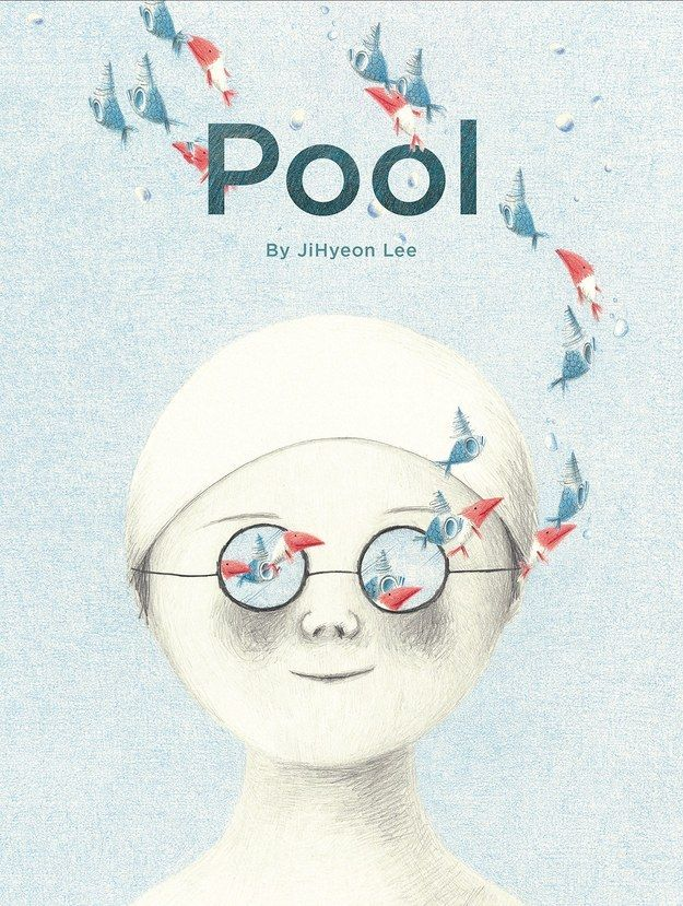 A beautiful book filled with illustrations by Lee Jihyeon