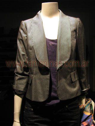 Resultado de imagen para blazer para mujeres con cuello esmoquin