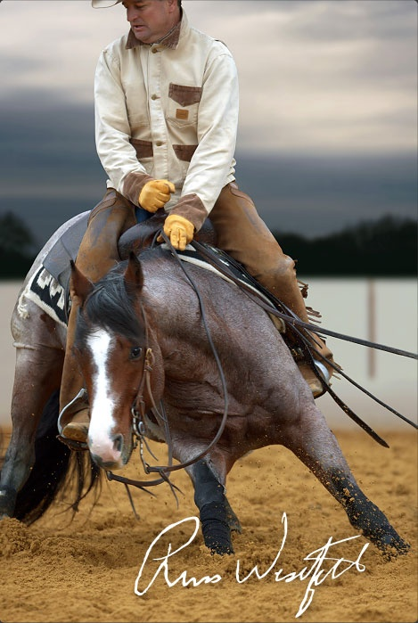 Russ Westfall, Westfall Cutting Horses. This Is My Horse™