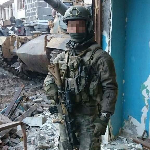 Turkish Maroon Berets joined urban operations against PKK.