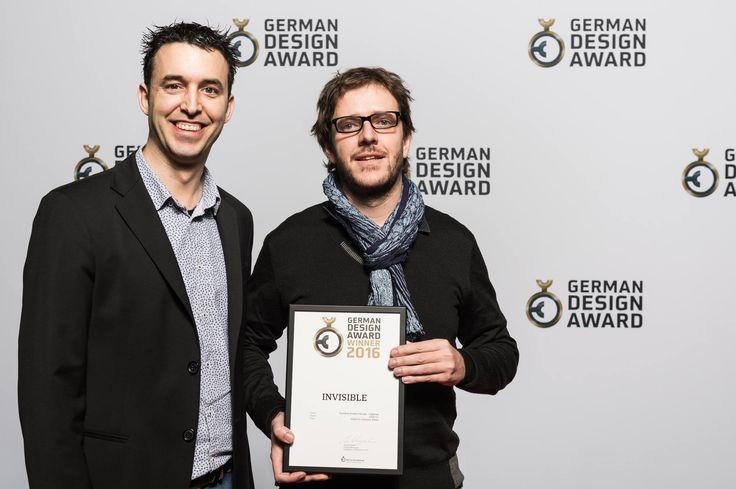 Already with our German Design Award Winner 2016! #INVISIBLElamp #lighting #design #FrancescVilaró #GROKbyLEDSC4 #LEDSC4