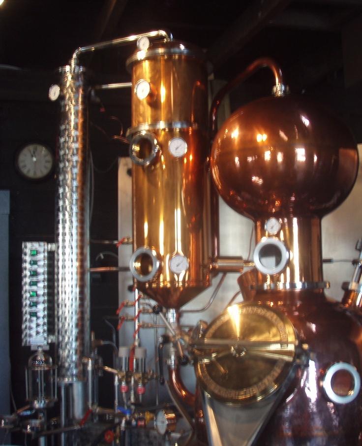 Ironworks copper still, making some of the best cranberry vodka I ever tasted (in Lunenburg, NS)
