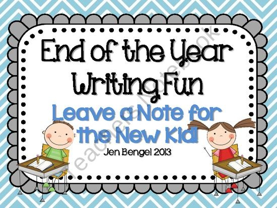 This resource is a super fun way for your students to give their best advice for the new student who will be sitting in his/her desk next school year. Included is a student questionnaire with 20 questions and a final section for students to add any last minute advice, and a variety of cover pages to make a card. Your kids will have so much fun with this!!