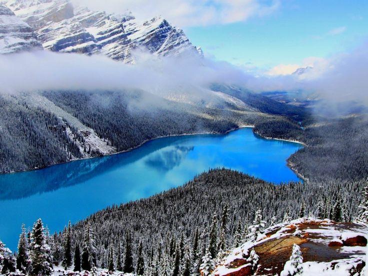 Озеро Peyto, Альберта, Канада