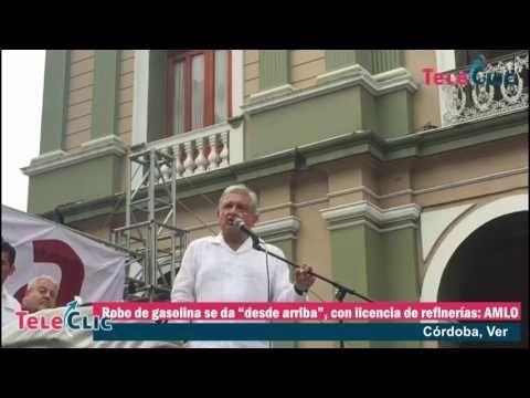 """Robo de gasolina se da """"desde arriba"""", con licencia de refinerías: AMLO - Al Calor Político"""