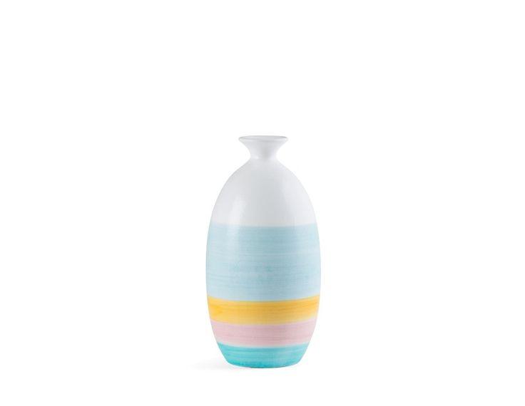 QUAD - Ceramic vase 12'' - Multi