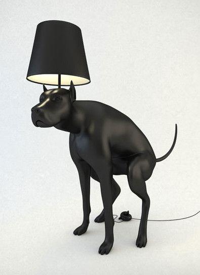 Good Boy Dog Lamp by Whatshisname