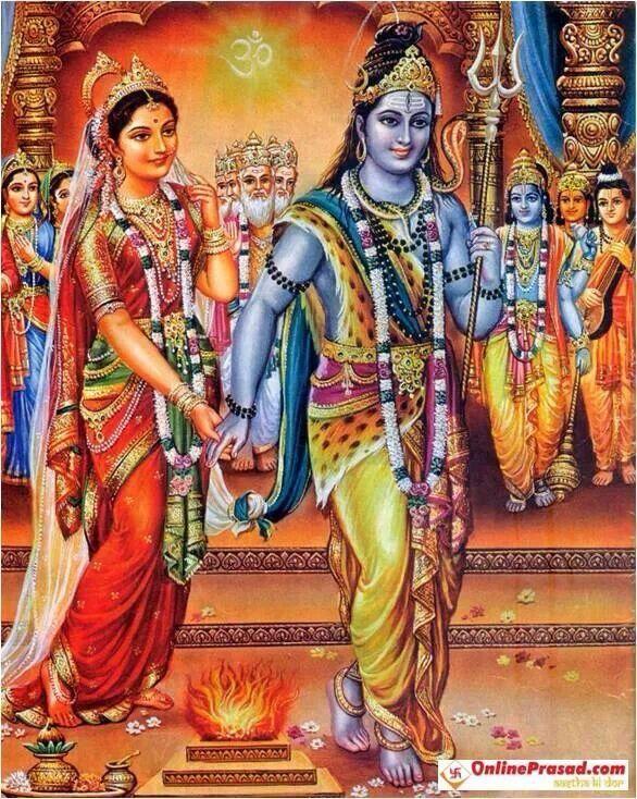 Shiva & Parvati ❤️