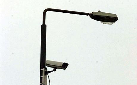 lamppost with cctv camera - Google Search