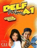 DELF Prim A1 Livre + corriges + transcriptions + CD audio