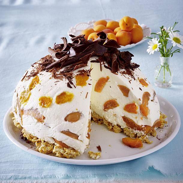 Aprikosen Kuppeltorte Rezept Torten Kuchen Und Mehr