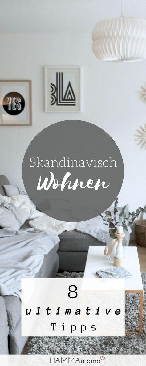 Skandinavischer Wohnstil und andere Dinge, die während der Ferien in