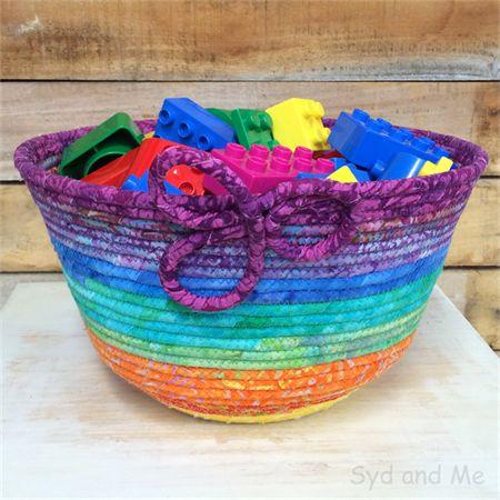 Handmade Fabric Basket