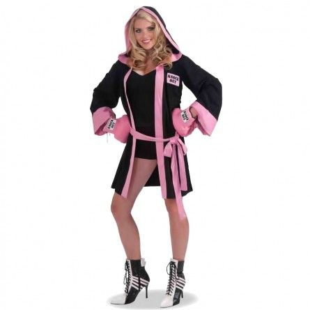 Boxing Girl Sports Costume