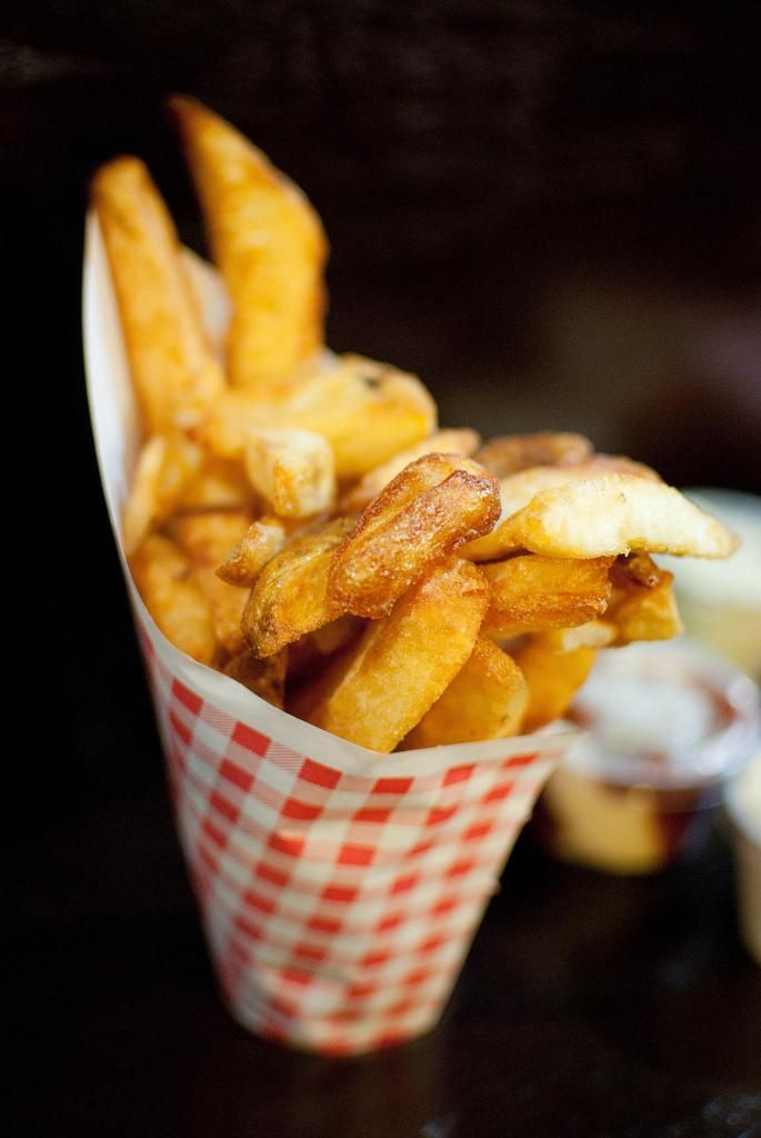 New York | Pomme Frites • 123 2nd Ave – these fries are some of my favorite in NY / Matthew Mendoza