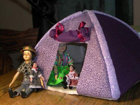 barbie tent pattern