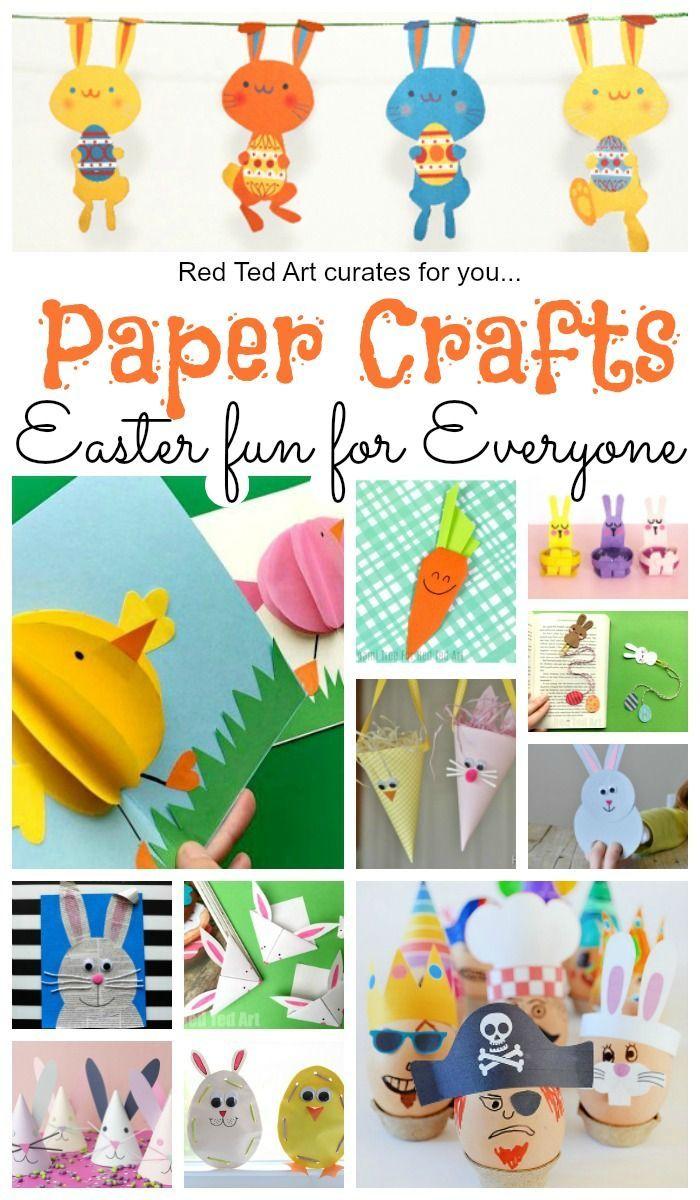 Paper Easter Crafts Paper Crafts Kids Easy Easter Crafts Easter