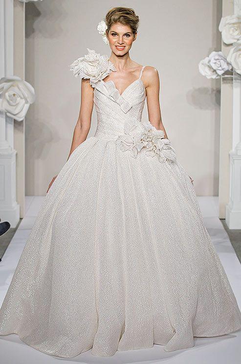 35 best Wedding dresses images on Pinterest | Wedding frocks, Short ...