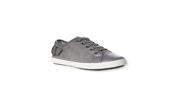 """Grey Trainers. """"The ultimate off-duty shoe, kick back and relax in these cool grey trainers."""""""