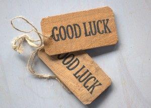 label good Luck