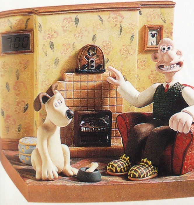 April-June 1997: Wallace and Gromit radio alarm clock