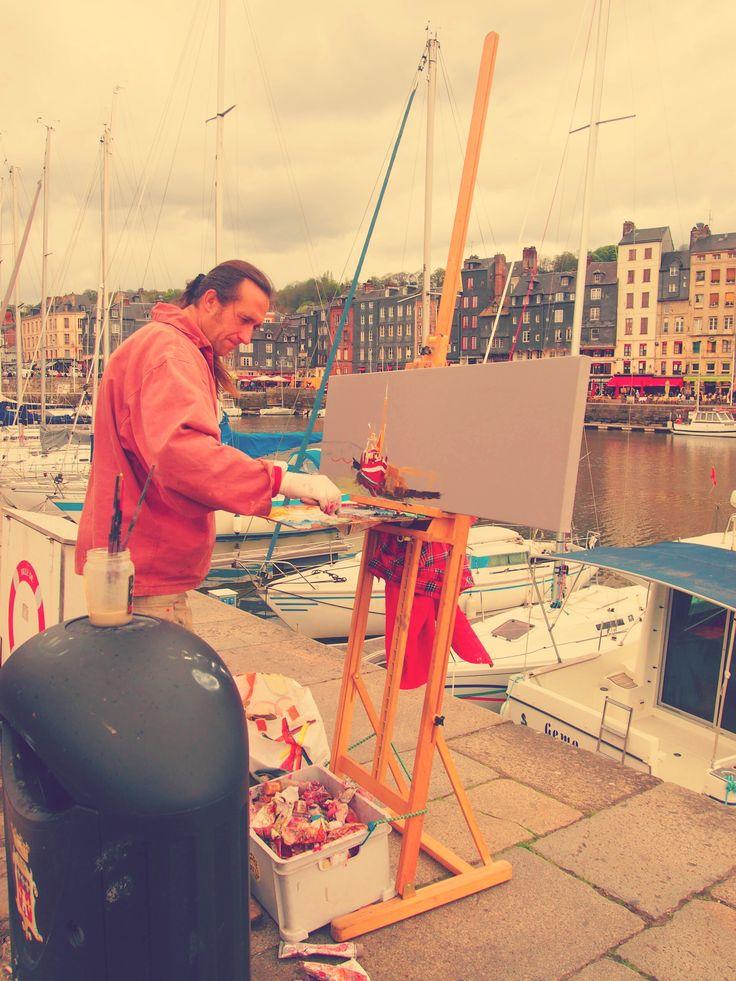 画家が愛した小さな港町-Honfleur-