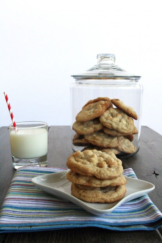 Ghirardelli White Chocolate Macadamia Cookies-- best recipe ever. Honestly, yum. I used this recipe as a base to create my sugar cookie recipe.