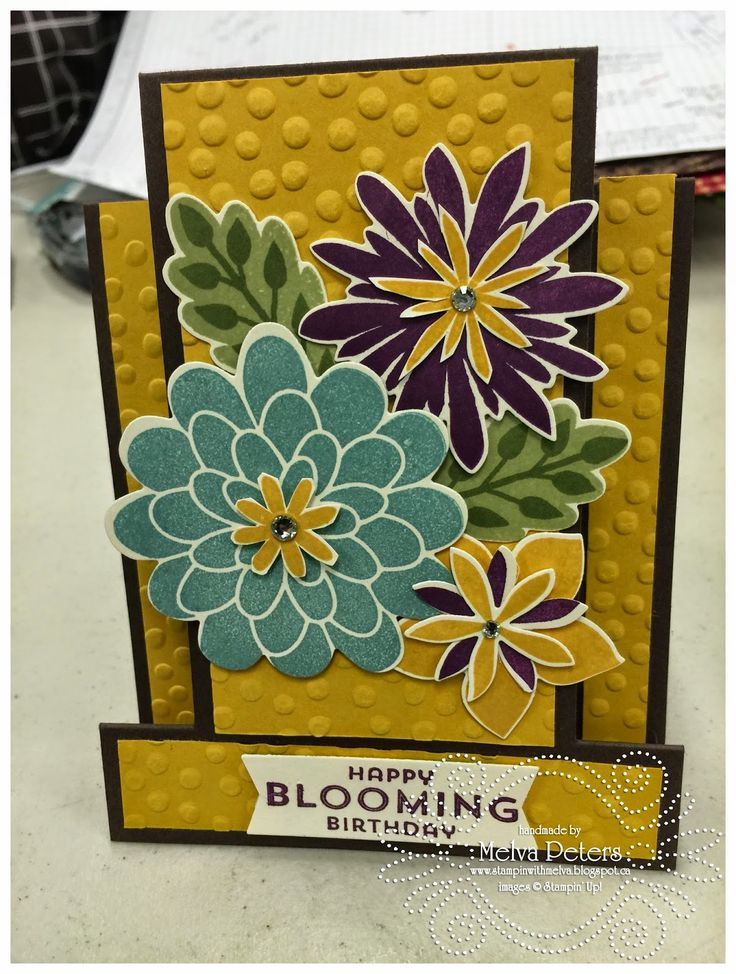 Stamp with Melva: I'm a little late in posting today as I'm at a Cra...