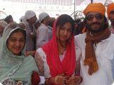 Roop Kumar and Sunali Rathod with Daughter Reewa Rathod