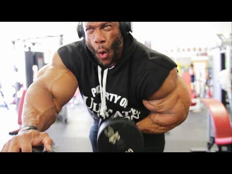 e2629e233d Phil Heath's Hardcore Arms, Biceps/Triceps Workout For MASS - YouTube