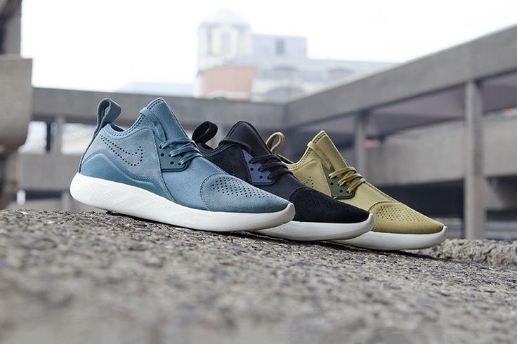 "Nike Takes the Wraps off the Forthcoming LunarCharge Premium ""Suede Pack"""
