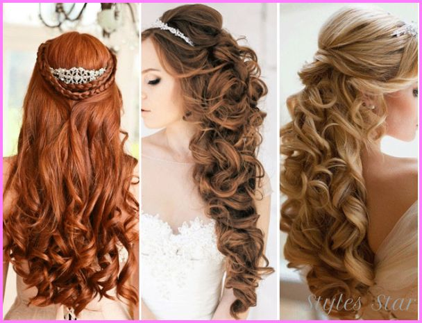 30 Beautiful Wedding Hairstyles: 1000+ Ideas About Bridesmaids Hairstyles Down On Pinterest