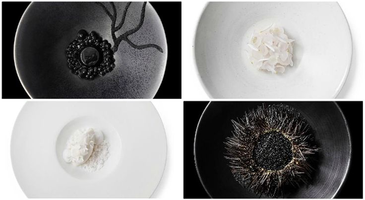 Chefs Show You How to Plate in Monochrome #food #recipes #spiralizer