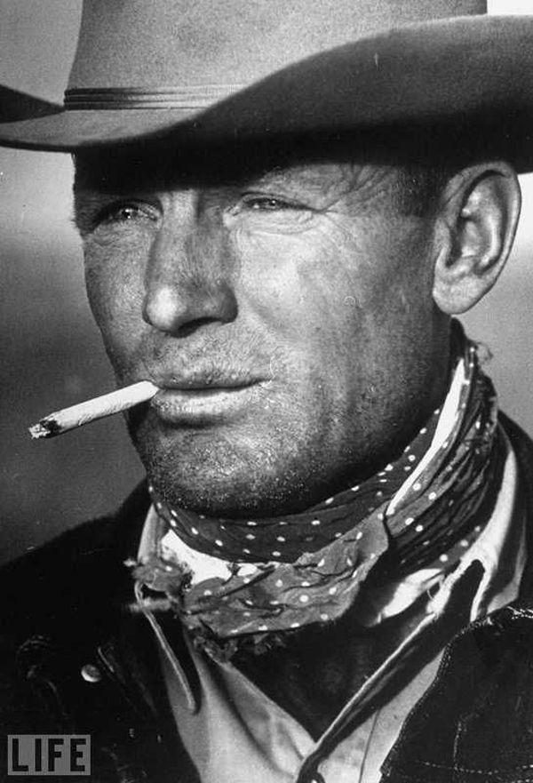 El hombre Marlboro (Clarence Hailey), por Leonard McCombe 1949