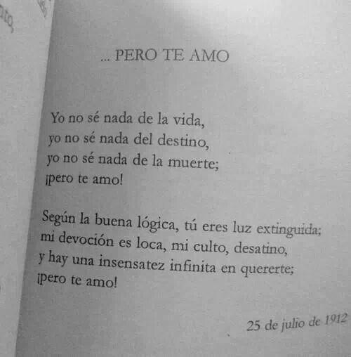 ....pero te amo