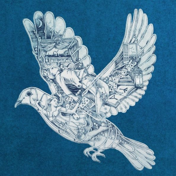 Love This Dove by Mila Furstova from Coldplay single Magic on Ghost Stories