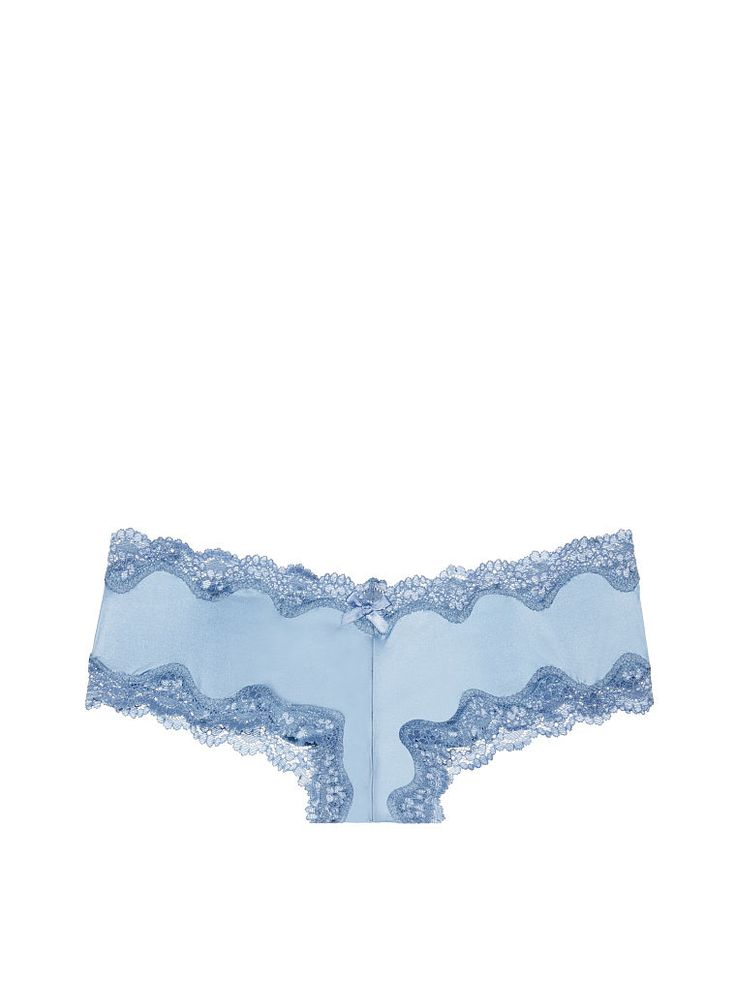 A sweet way to show a little cheek: the Lace-trim Cheeky Panty from Victoria's Secret. Trimmed in supersoft lace, this sexy little panty comes in a rainbow of colors and prints–why not flirt in them all? From our Sexy Little Things lingerie collection.