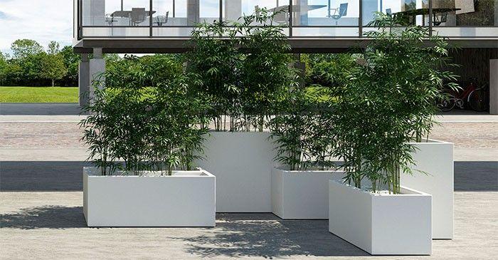 Jardinières Kube Euro3Plast JardinChic