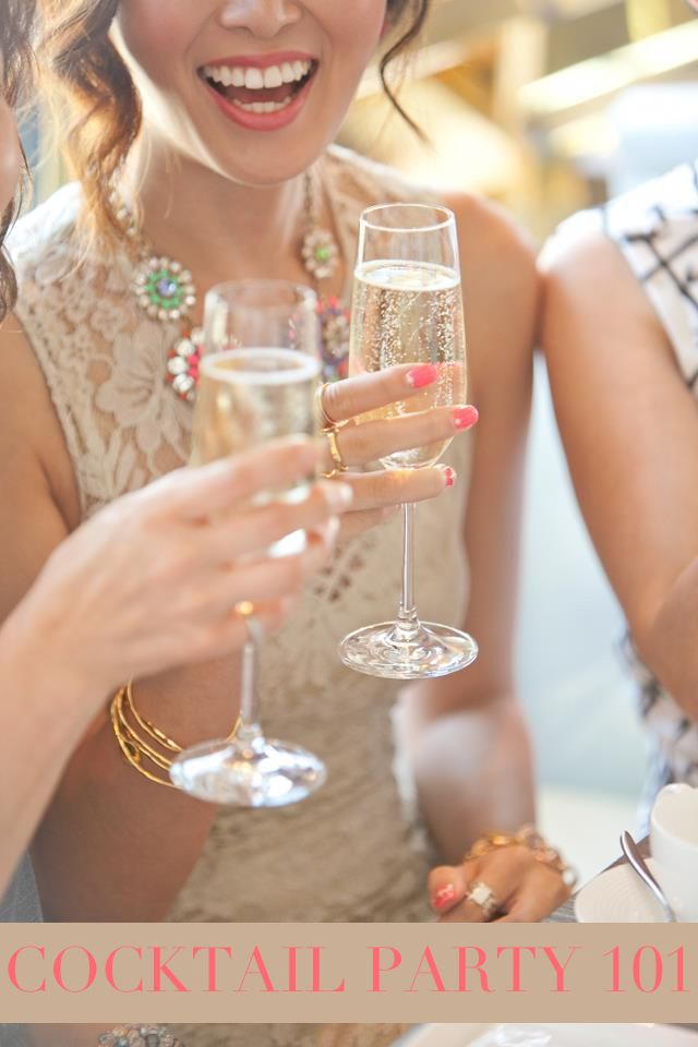 six cocktail party tips for the hostess with the mostess