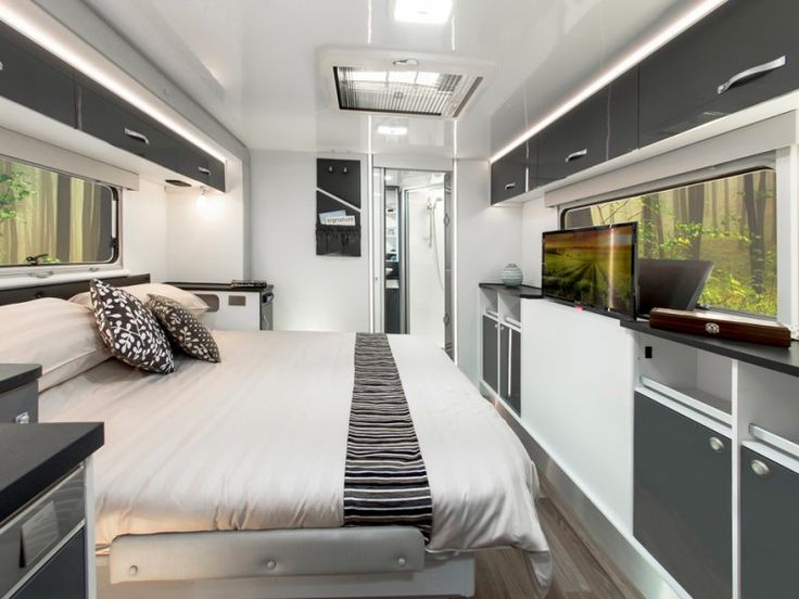 Impressed with this caravan bedroom? Never seen one like it before? Let us know your thoughts.