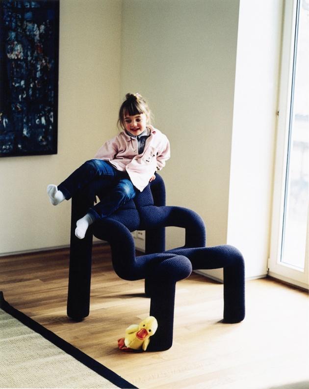 The Ekstrem chair by Norwegian furniture designer Terje Ekstrøm