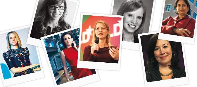 Marissa #Mayer, Leah #Busque, Sheryl #Sandberg, Katie #Stanton, Ann #Winblad, Safra Catz, Padmasree #Warrior : Les #amazones de la #Silicon Valley.   Elle occupent des postes-clés chez #Facebook, #Twitter, Cisco ou #Google… Qui sont ces reines du #high-tech ?  Article d'Anne Sengès pour Le #Figaro_Madame