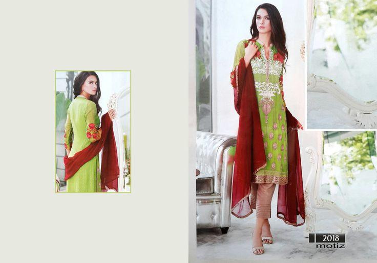 Indian Salwar Kameez Punjabi Suit Motiz_8 Pakistani Designer Suit Dress Material #OdInParis #IndianPakistaniSalwarKameezSuit #Formal