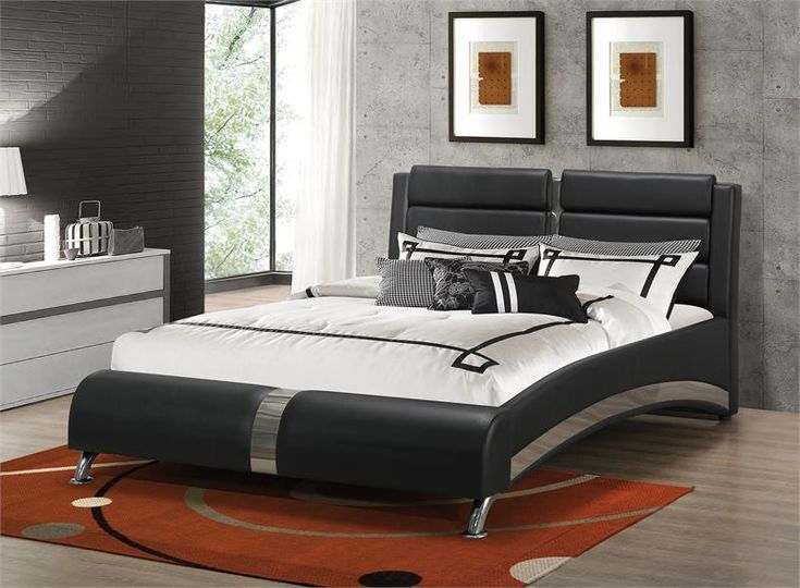 Coaster Jeremaine Upholstered Bed Las Vegas Furniture Online |  LasVegasFurnitureOnline | Lasvegasfurnitureonline.com · Modern BedsModern  Bedroom ...