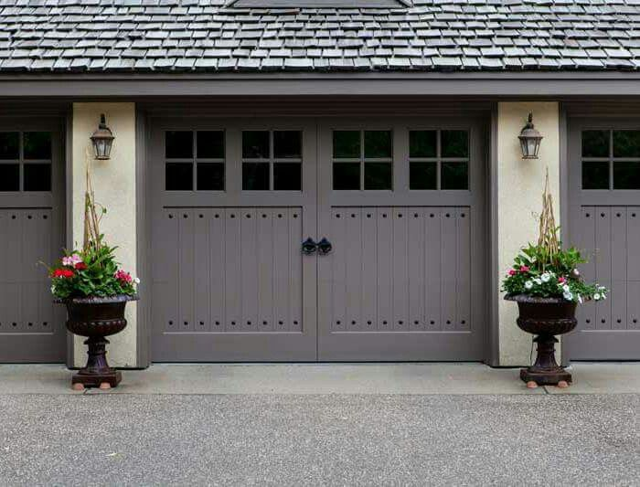 116 Best Images About Arts Crafts Garage Doors On