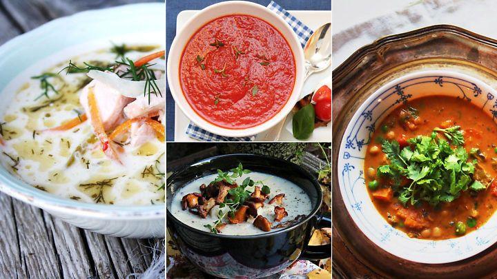 10 digge supper som varmer på høsten