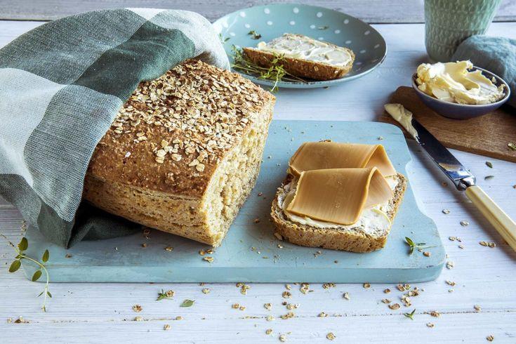 Brødet som er genialt enkelt å lage! Oppskriften får du her.