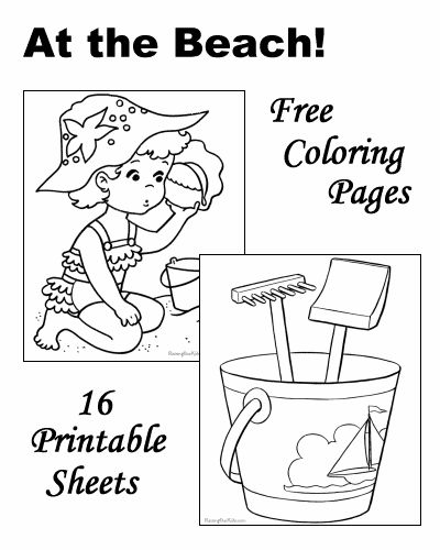 25 best ideas about Beach coloring