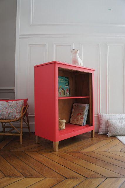Atelier Petit Toit: La bibliothèque vintage d'Eugénie - revisitée sur commande