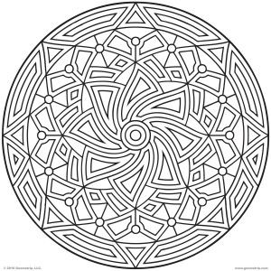 Adult Printable Coloring Pages Viewing Gallery For Geometric Pattern Adults